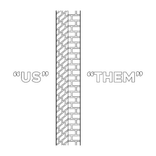 Illustration: Wall of separation